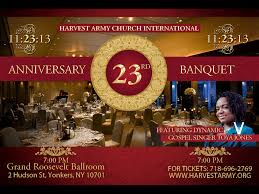 thanksgiving army 23rd anniversary banquet harvest army world revival