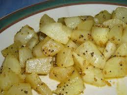 cuisiner navets navets au curry et au miel chez laurette