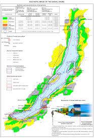 Isoline Map 142 Aesthetic Image Of The Baikal Shore Map U2014 English