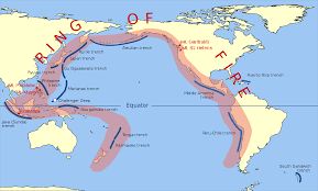 Earthquake Map Seattle by Ring Of Fire Wikipedia