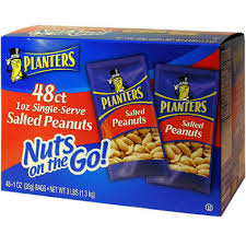 Planters Peanuts Commercial by Planters Salted Peanuts 1 Oz 48ct Sam U0027s Club