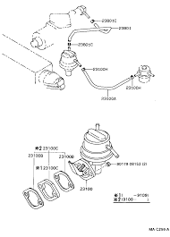 Toyota 2e Engine Diagram Toyota Corollaee90l Ahmds Tool Engine Fuel Fuel Pump Pipe