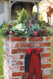 100 fresh christmas decorating ideas southern living christmas decorating ideas mailbox topper