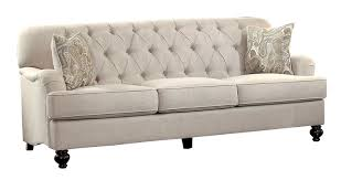 Button Tufted Sofa by Amazon Com Homelegance Clemencia Classic Button Tufted English