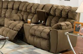 brayden 440 reclining sectional in umber sofas and sectionals