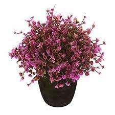 Home Decor Artificial Trees Amazon Com Vgia Home Decor Purple Artificial Retro Potted Plant
