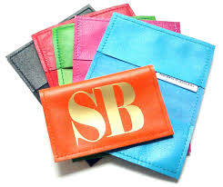 Leather Personalized Business Card Holder Metro Personalized Leather Business Card Holder U0026 Oyster Card Holder