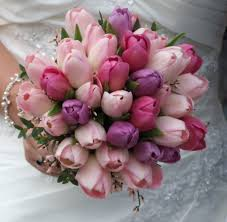 wedding flowers tulips bridal flower tulip unconventional and affordable bouquets for
