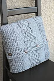 Patterns For Knitted Cushion Covers 288 Best Knit Pillows Images On Pinterest Knit Pillow Knitting