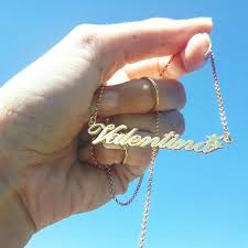 make your own name necklace best 25 gold name necklace ideas on name necklace