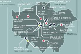 Map Of The Hamptons Designer Creates Brilliantly Detailed Tv Map Of London And Great