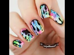 dripping goo nail art with sharpies youtube