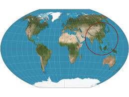China On World Map by China Is Shown On The Map Circled On The Map The Yangt