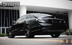 2014 mercedes cls550 4matic wheel offset 2012 mercedes cls550 slightly aggressive dropped