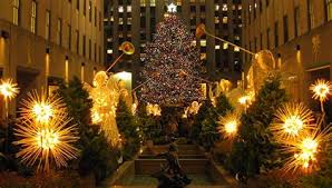 collection of tree lighting in new york 2017