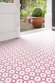 kitchen floor white retro pattern vinyl kitchen flooring
