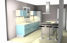 cuisine au milieu de la cuisine avec poteau au milieu idées de design suezl com