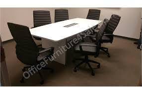 modern boardroom table boat shaped boardroom table 18u0027 herman miller granite