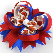 custom hair bows shop sports hair bows on wanelo