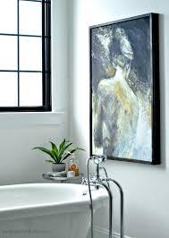 decor bathroom decor ideas by art canvas