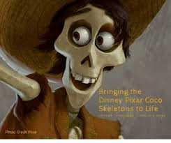 bringing the disney pixar coco skeletons to life through