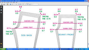 pattern grading for beginners pant pattern grading pattern grading grading pant grading