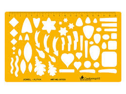 drawing templates stencils u2013 cooksongold