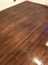 waxed pine floor matte finish house flooring
