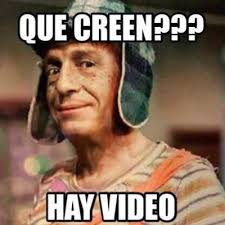 Memes Videos - que creen hay video creenhay twitter