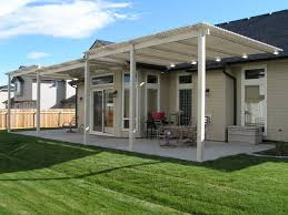 Metal Awnings For Patios Idaho Custom Patio Covers Butte Fence