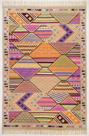 teppich kelim royal multicolor bt 140x200 cm in bunt von theko