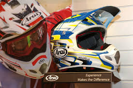 arai motocross helmet american international motorcycle expo aime day 1 motocross