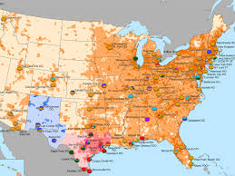 Map Of Northeast America by