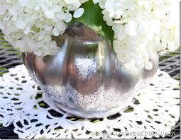 Mercury Glass Vases Diy Diy Mercury Glass Vase Sweet Pea