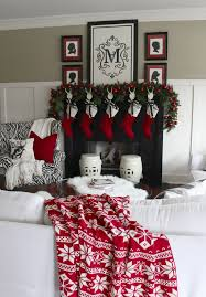 Modern Christmas Home Decor Best 25 Red Christmas Ideas On Pinterest Red Christmas