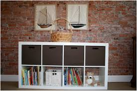 White Storage Bookcase by Nice Shelf Unit With Baskets Ideas U2013 Modern Shelf Storage And