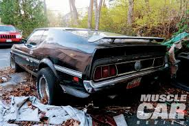old ford cars 1971 ford mustang mach 1 rare find muscle car review rod