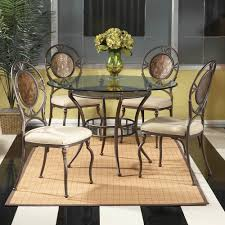 Round Glass Dining Room Sets Mirrored Dining Room Set Traditional Dining Tables By Beyond