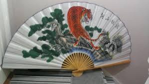 oriental fan wall hanging japanese fan wall hanging home decor for sale in tallaght dublin
