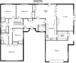 5 bedroom floor plans bungalow amazing bedroom living room