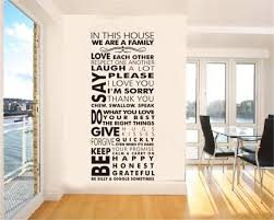 Captivating Living Room Wall Decals Ideas  Wall Decorations For - Family room wall quotes