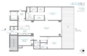 St Regis Residences Floor Plan Aquablu Las Olas 35 Waterfront Luxury Residences