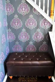 Purple Damask Wallpaper by 157 Best Wallpaper Ideas Images On Pinterest Wallpaper Ideas