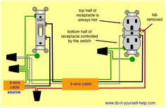 wiring diagram combo switch work at home ideas pinterest