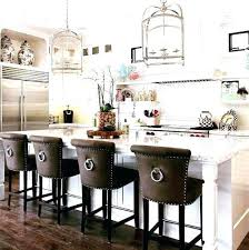 kitchen island with breakfast bar and stools leather breakfast bar stool fascinating faux leather kitchen