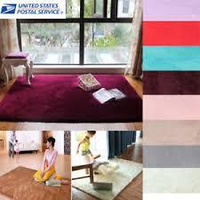 Bedroom Area Rug Shaggy Fluffy Rugs Anti Skid Area Rug Dining Room Carpet Home