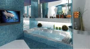 home interior bathroom architecture decorating with zen interior design blue color of