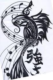 tattoo of pisces symbol unique pisces tattoo using fish and