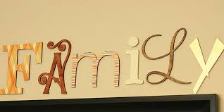 family wood how to make family wood letters diy