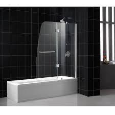 Shower Glass Doors Prices by Aqua Glass Bathtub Shower Roselawnlutheran